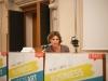 Prima Sessione: produrre cultura, dalla teoria ai fatti. Istantanee da un settore chiave nella ripresa economica nazionale - La moderatrice Cristina Bonadei.