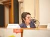 Terza sessione: Impresa-cultura Italia, strumenti di crescita competitiva e sistemica - La moderatrice Giuliana Carbi.